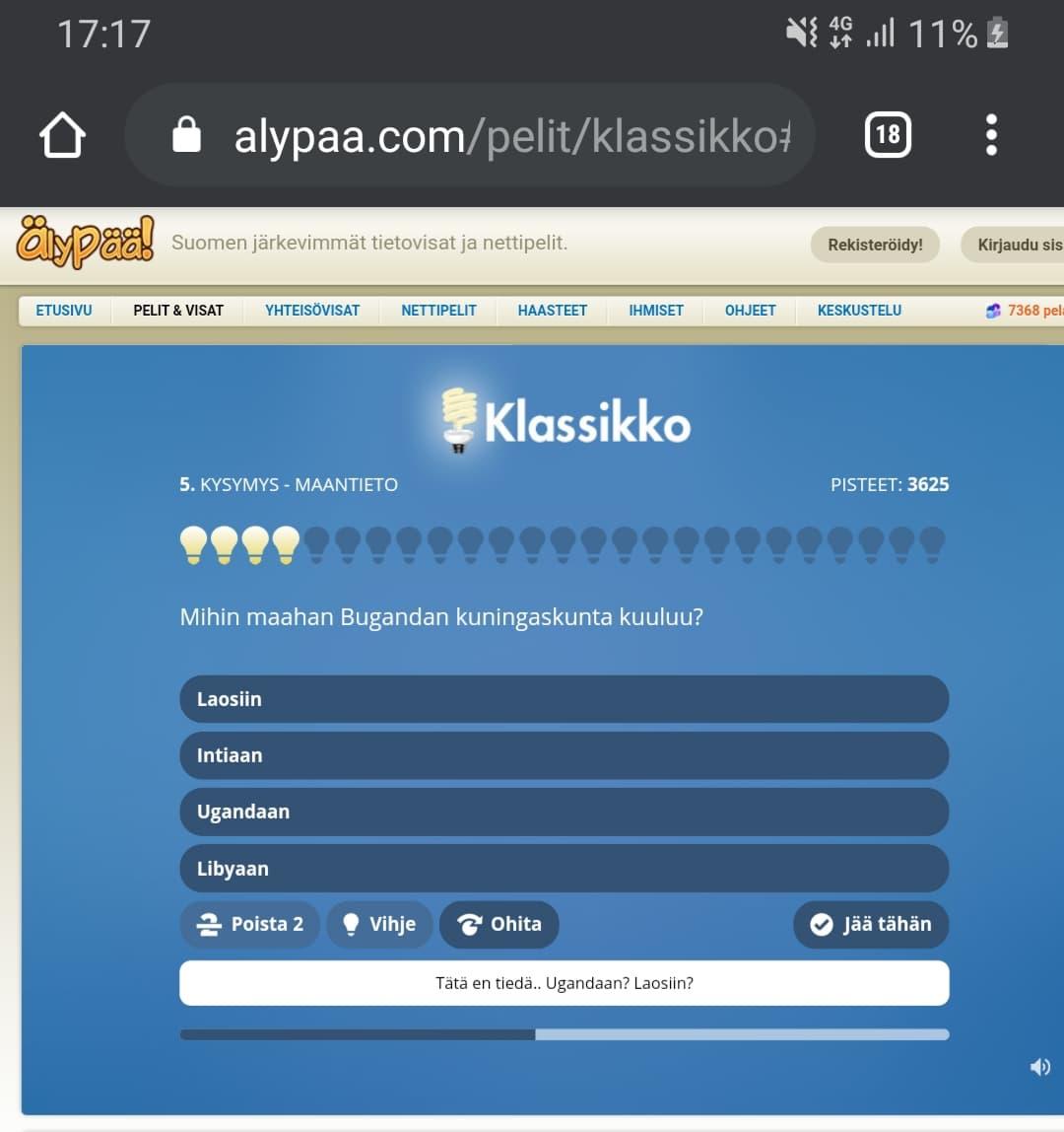 Älypää peli on yksi Suomen suosituimmista peleistä