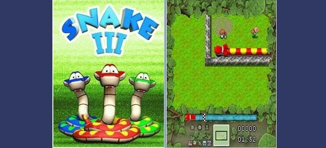 Snake 3 Nokia peli