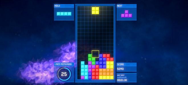 Tetris kauniilla grafiikoilla
